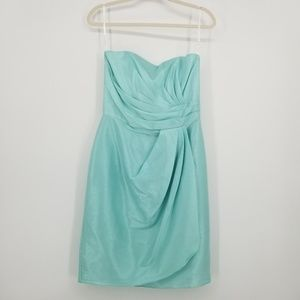 Alfred Sung Bridesmaid Dress in Seaside D601